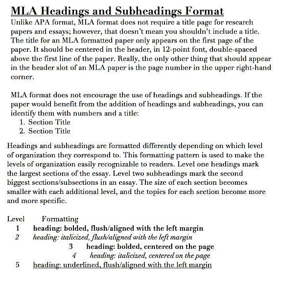 Professional custom essay headings